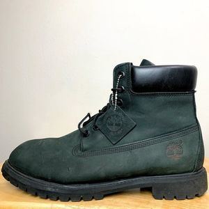 "Timberland Black 6"" Lace Basic Boot"